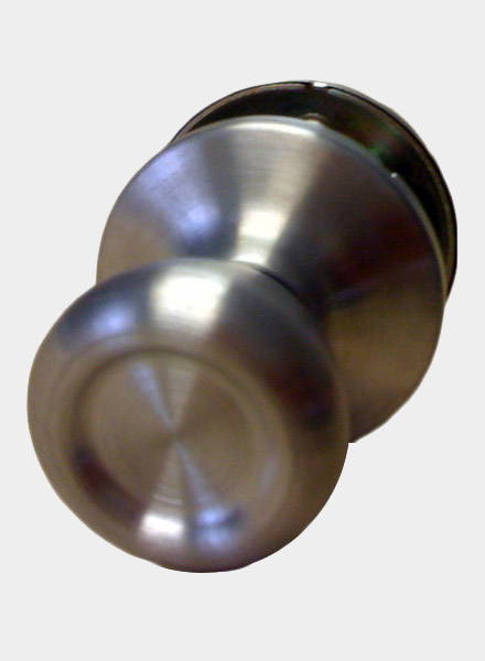Stainless Steel Passage Door Knob Set For Mobile Home