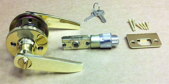 Amazing Mobile Home Brass Entrance Door Lever Shipping And Delivery