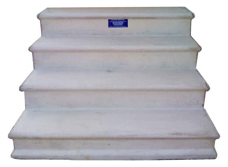 Wooden Concrete Fiberglass Steps for Mobile Homes