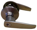 steel entrance lever lock
