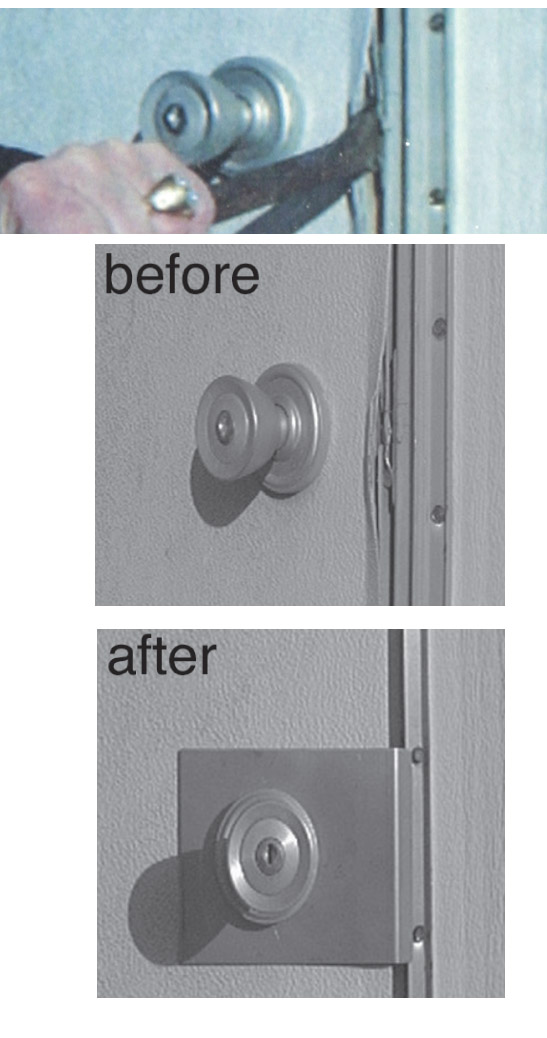 door security plate