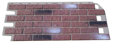 handlaid brick panels