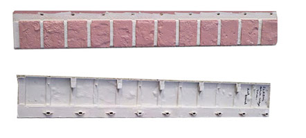 brick skirting ledges