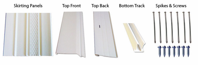 mobile home skirting package