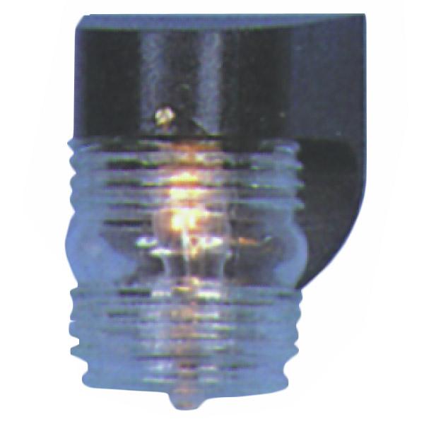 Black Plastic Exterior Light Fixture for Outside Mobile Home