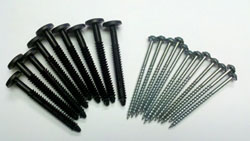 Shutter Screws and Fasteners