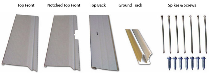 mobile home skirting trim kit