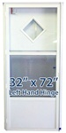 32x72 Diamond Door LH for Mobile Home Manufactured Housing
