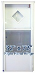 32x72 Diamond Door RH for Mobile Home Manufactured Housing