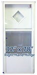 32x78 Diamond Door RH for Mobile Home Manufactured Housing