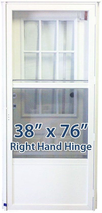 38x76 Cottage Door Rh For Mobile Home Manufactured Housing