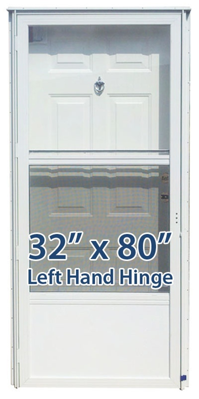32x80 Steel Solid Door With Peephole Lh For Mobile Home Manufactured Housing