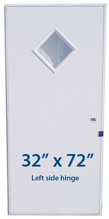 Mobile Home Diamond Door 32x72 Lh Left Hand Hinge Doors
