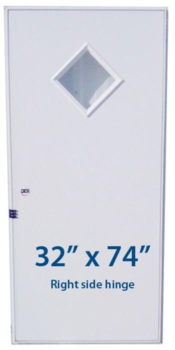 Mobile Home Diamond Door 32x74 Rh Right Hand Hinge Doors