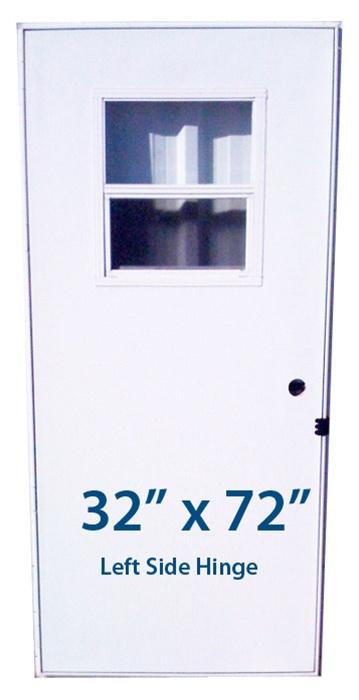 Mobile Home Slider Door 32x72 Lh Left Hand Hinge Doors