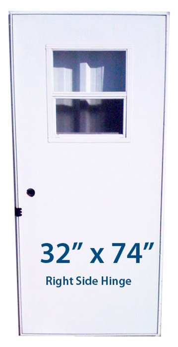Mobile Home Slider Door 32x74 Rh Right Hand Hinge Doors