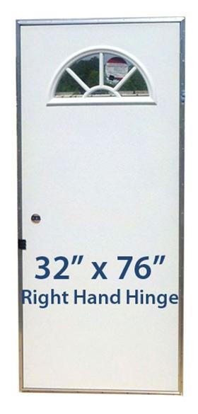 Fan Window Outswing 32x76 Rh