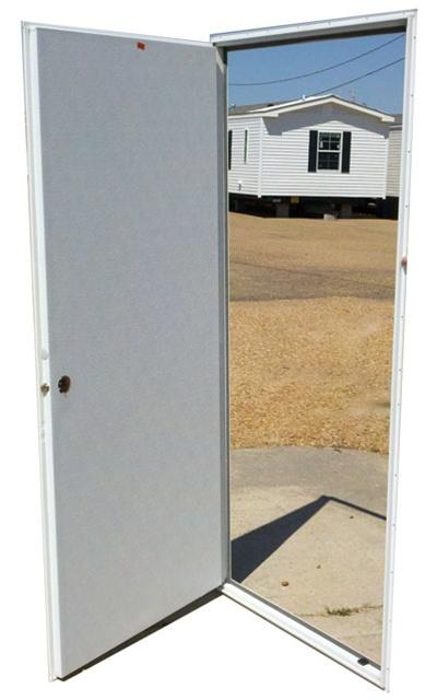 Solid Aluminum Outswing Door 32x72 Lh