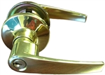 Brass Lever Entrance Door Knob