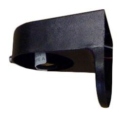 Black Plastic Exterior Light Fixture For Outside Mobile