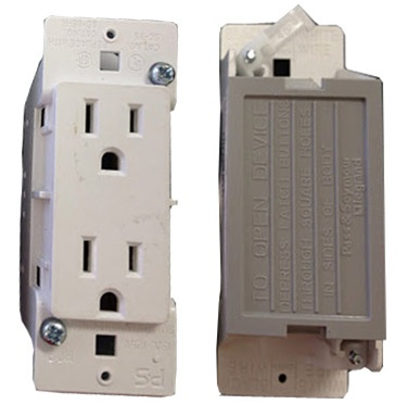 outlet receptacle for mobile home manufactured housing