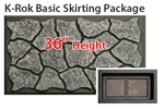 "K-Rok Entire House Skirting Package - 36"" Basic"