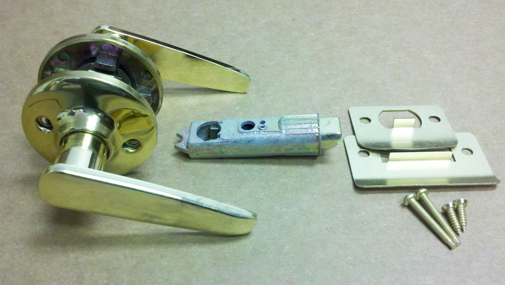 Lever Passage Door Knob for Mobile Home Manufactured Housing