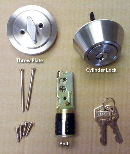 brass deadbolt lock mobile home