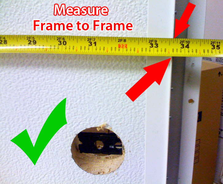 measure trailer door