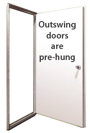 Gentil Mobile Home Single Outswing Doors