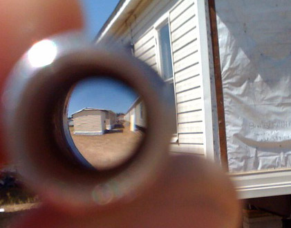 door knocker peephole