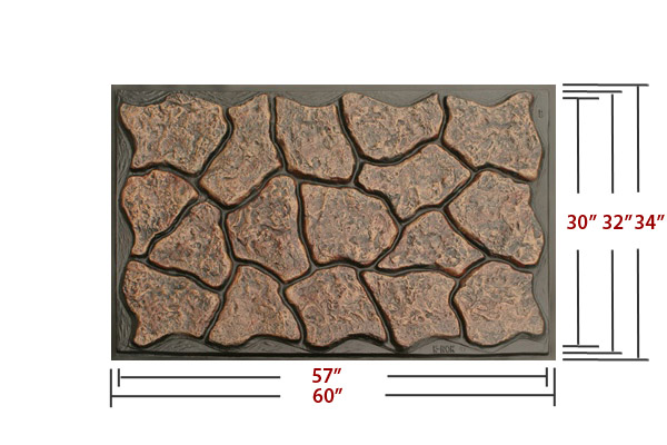 K rok stone skirting plastic rock skirt panels and accessories for mobile home manufactured - Fake brick skirting ...