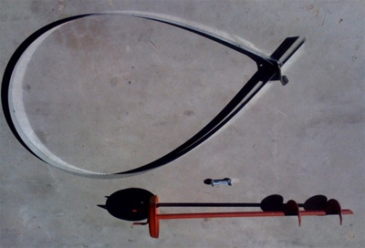 Anchor With Strap And Split Bolt For Mobile Home