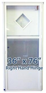 36x76 diamond door rh for mobile home manufactured housing - 32x80 exterior door rough opening ...