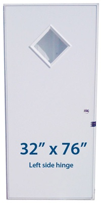 Mobile Home Diamond Door 32x76 Lh Left Hand Hinge Doors
