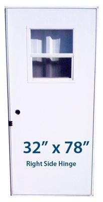 Mobile Home Slider Door 32x78 Rh Right Hand Hinge Doors