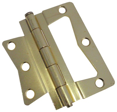 Brass Decorative Interior Door Flag Hinges For Mobile Home