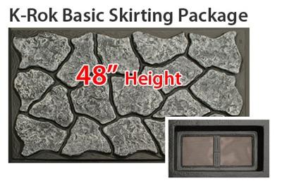 K Rok Entire House Skirting Package 48 Quot Basic For Mobile