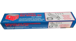 Storage Building Anchor Kit