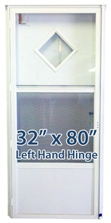 32x80 Diamond Door LH for Mobile Home Manufactured Housing