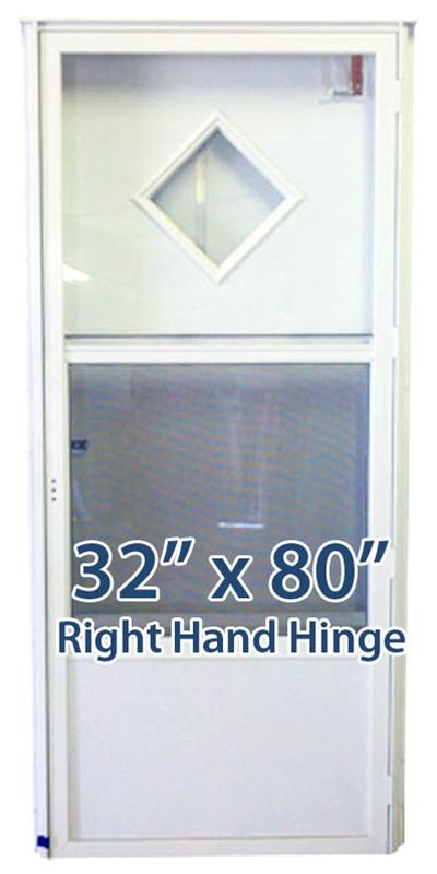 32x80 diamond door rh for mobile home manufactured housing - 32x80 exterior door rough opening ...
