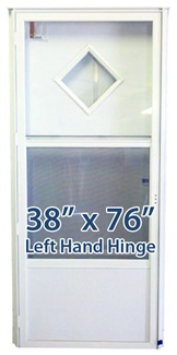38x76 Diamond Door LH for Mobile Home Manufactured Housing