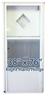38x76 Diamond Door RH for Mobile Home Manufactured Housing
