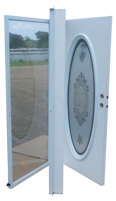 34x76 Full Oval Door Rh For Mobile Home Manufactured Housing