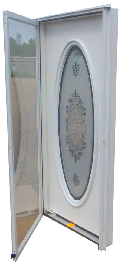 36x76 Full Oval Door Lh For Mobile Home Manufactured Housing