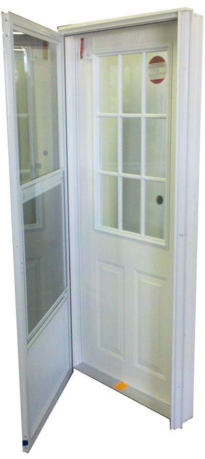 Fiberglass Steel Entry Door