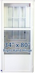 34x80 Cottage Door RH for Mobile Home Manufactured Housing