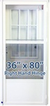 36x80 Cottage Door RH for Mobile Home Manufactured Housing