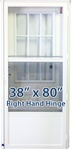 38x80 Cottage Door RH for Mobile Home Manufactured Housing