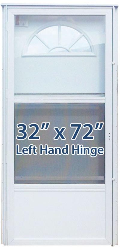 32x72 Aluminum Door Fan Window Lh For Mobile Home